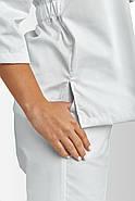 Кофта медична, робоча, універсальна Toffy Жіноча Біла, фото 3