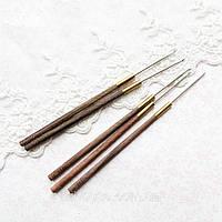 Индийский Крючок для Вышивания 1 мм длина иглы 32 мм