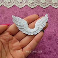 Крылья 6.5*3 см БЕЛЫЕ
