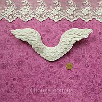 Крылья 18*7*1 см СВЕТЛО-СЕРЫЙ