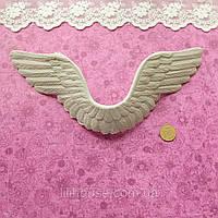 Крылья 20*7*1 см СВЕТЛО-СЕРЫЕ