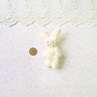 Мягкая Игрушка Кролик 7.5 см с ушками МОЛОЧНЫЙ
