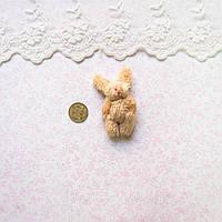 М'яка Іграшка Заєць 5.5 см з вушками КОРИЧНЕВИЙ