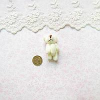 Мягкая Игрушка Медвежонок 4 см МОЛОЧНЫЙ