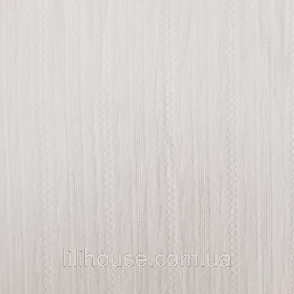 """Шитье Мережка на батисте тонкий Фактурный Хлопок для кукол """"Ромбики на Белом"""", 25*34 см"""