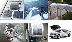 Фотомодуль полугибкий ALTEK 100W ALT-FLX-100 солнечная батарея (панель) 100 Вт, фото 3