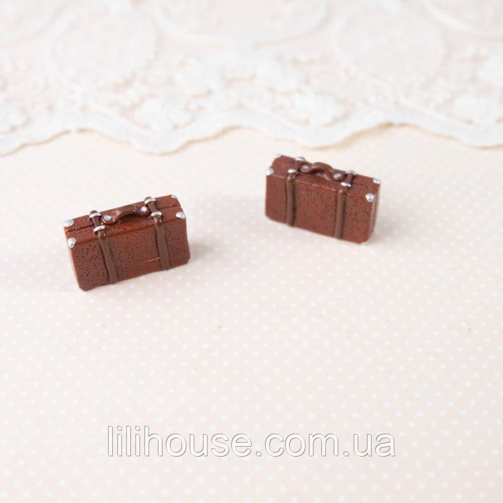 Миниатюра-смола Чемодан Мини Декоративный 24*15*7 мм