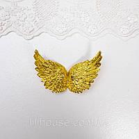 Крылья 8*5.5 см ЗОЛОТО