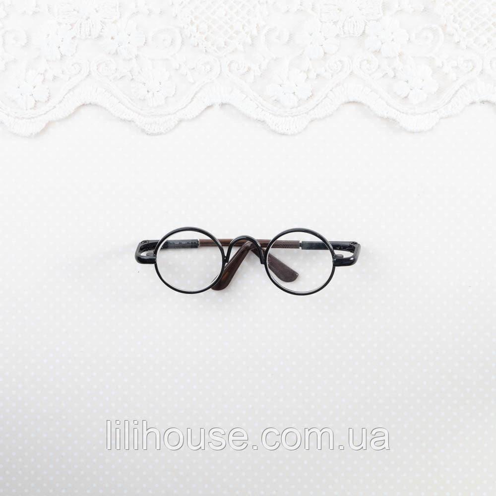 Окуляри Міні для Ляльок і Іграшок 6.5*2 см ЧОРНІ