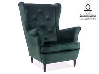 Кресло LADY MATT VELVET зеленый BL75 (Signal)