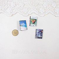 1:12 Миниатюра Журналы Travel 3 предмета
