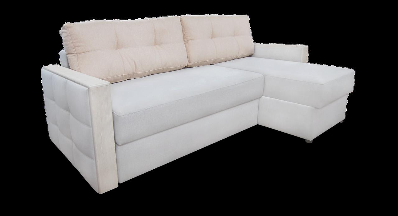 Угловой диван  Николь фабрики Бис-М с оттоманкой