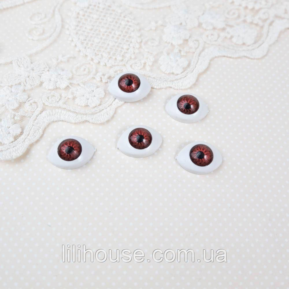 Очі для Ляльок Пластикові РИБКИ 13*18 мм МАХАГОН