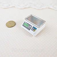 1:12 Миниатюра Весы Электронные 2.8 см