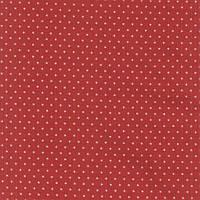 """Американский Хлопок Ткань для Пэчворка и Рукоделия """"Звездочки на Красном"""" 23*55 см"""