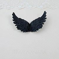 Крылья 10.5*6.5 см ЧЕРНЫЕ