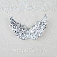 Крылья 10.5*6.5 см СЕРЕБРО