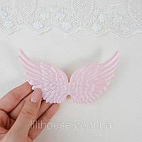 Крылья мягкие 12.5*7 см РОЗОВЫЕ