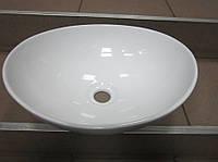 Умывальник керамический овальный Oslo 340 х 400