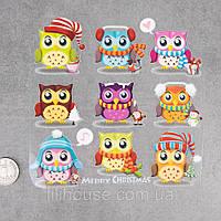 Термотрансферные Наклейки для Ткани The WINTER`s OWLS