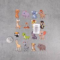 Термотрансферные Наклейки для Ткани CUTE ANIMALS