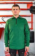 Флісова кофта зелена
