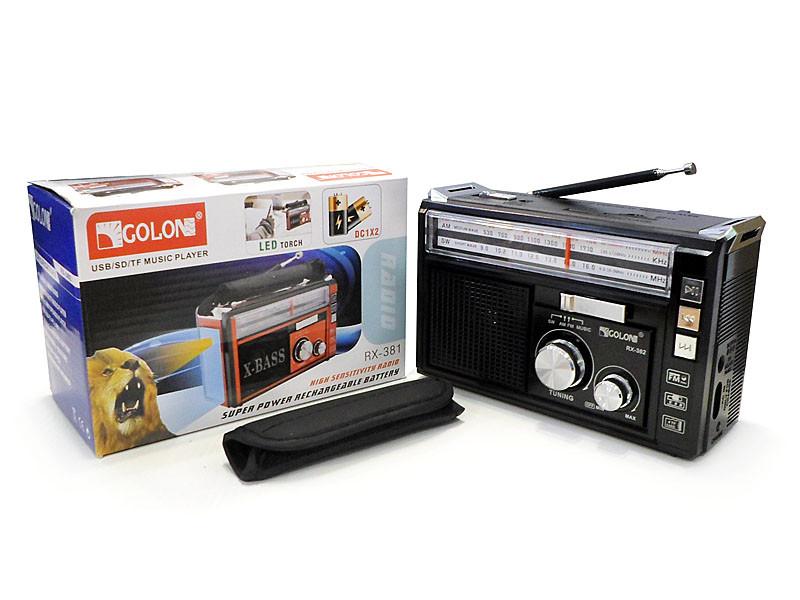 Радиоприемник Golon RX-382 36шт 9627