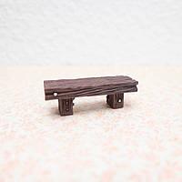 Скамейка Миниатюра для Диорамы 5.5*1.8 см