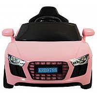 Дитячий електромобіль Siker Cars 788 рожевий