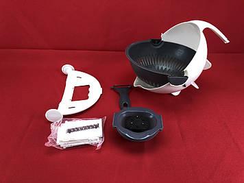Багатофункціональна овочерізка Wet Basket Vegetable Cutter подрібнювач ART-0449