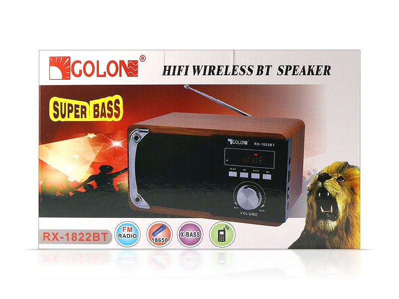 Радиоприемник Bluetooth Golon RX-1822BT 18шт 9802