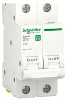 Автоматичний вимикач R9F12210 2P 10A C Resi9 Schneider Electric