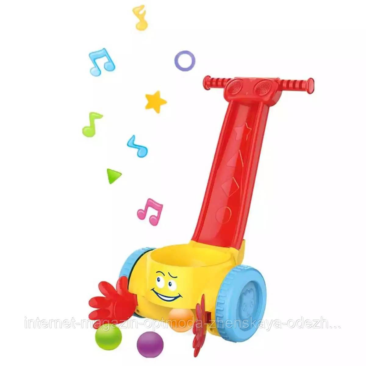 """Іграшка каталка музична з кульками для малюків """"Garry"""""""