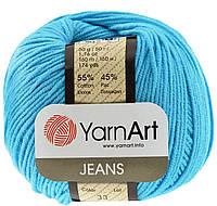 YarnArt Jeans - 33 ярко-бирюзовый