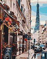 Картина по номерам рисование Brushme BS30083 Париж из-за угла