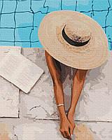 Картина за номерами малювання Brushme BS51750 Літо в капелюшку