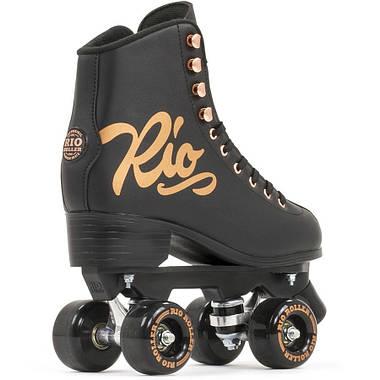 Взрослые роликовые коньки Rio Roller Rose 37 Черный, фото 3