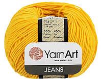 YarnArt Jeans - 35 желтый