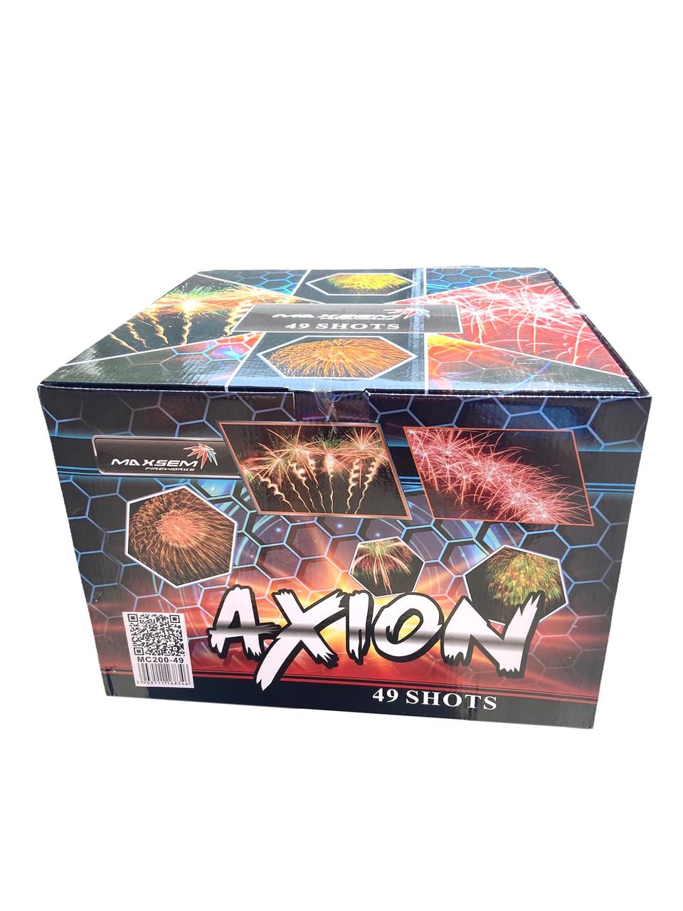 Салют Axion Maxsem MC200-49, 49 выстрелов 50 мм