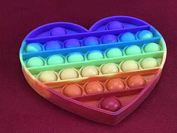 Іграшка-антистрес Поп Іт (Серце)