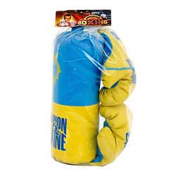 "Боксерський набір маленький ""Україна"" Danko Toys S-UA"