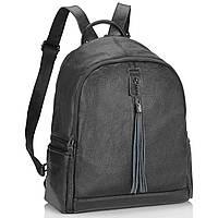 Жіночий рюкзак чорний Olivia Leather NWBP27-6627A, фото 1