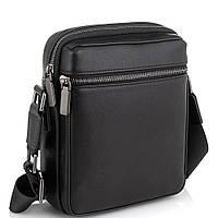 Чоловіча сумка через плече чорна Tiding Bag SM8-2156A, фото 1