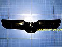 Зимняя заглушка решётки радиатора Рено Трафик верх 2001-2006 глянец Fly. Утеплитель решётки Renault Trafic