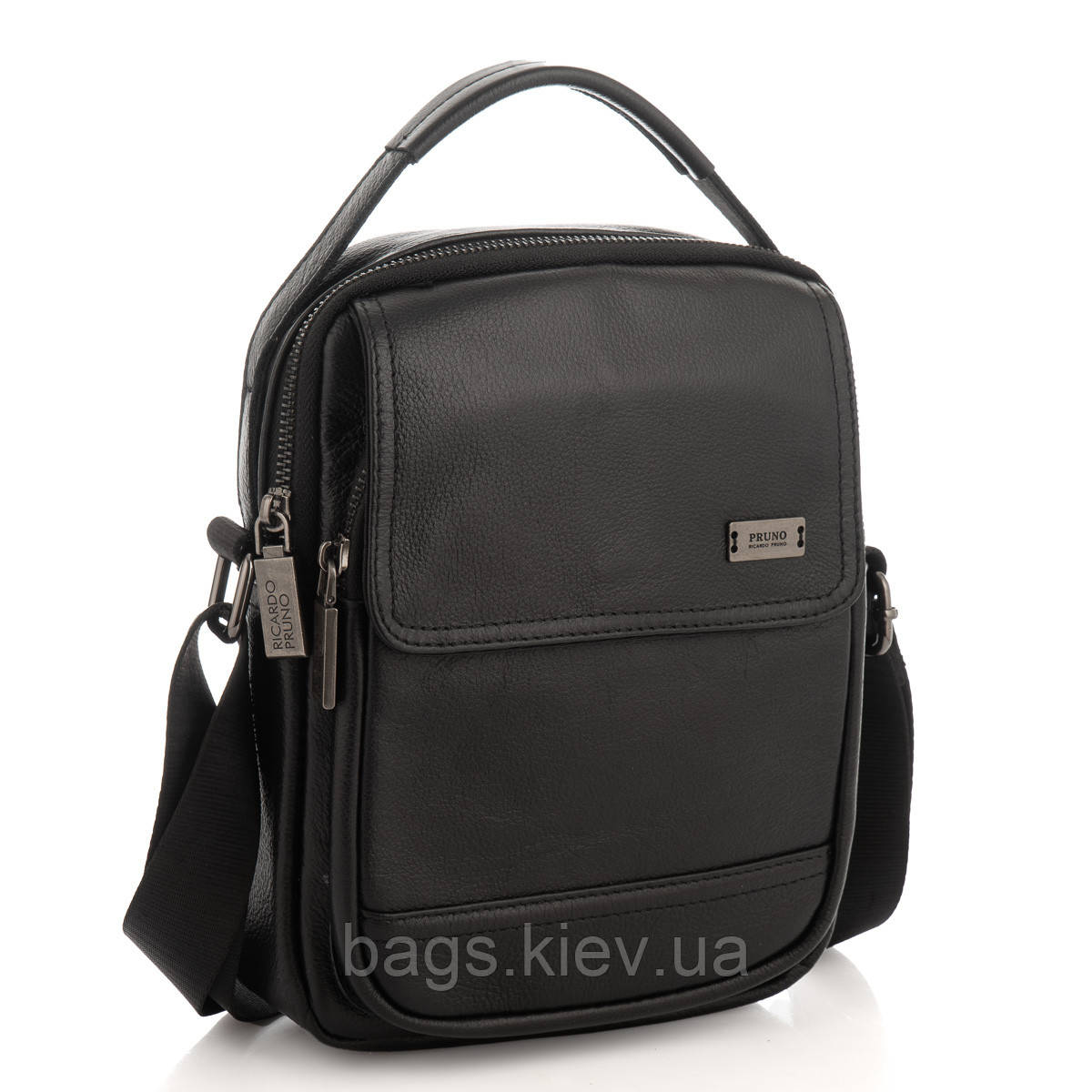Мужская сумка через плечо натуральная кожа Ricardo Pruno RP23-2301A