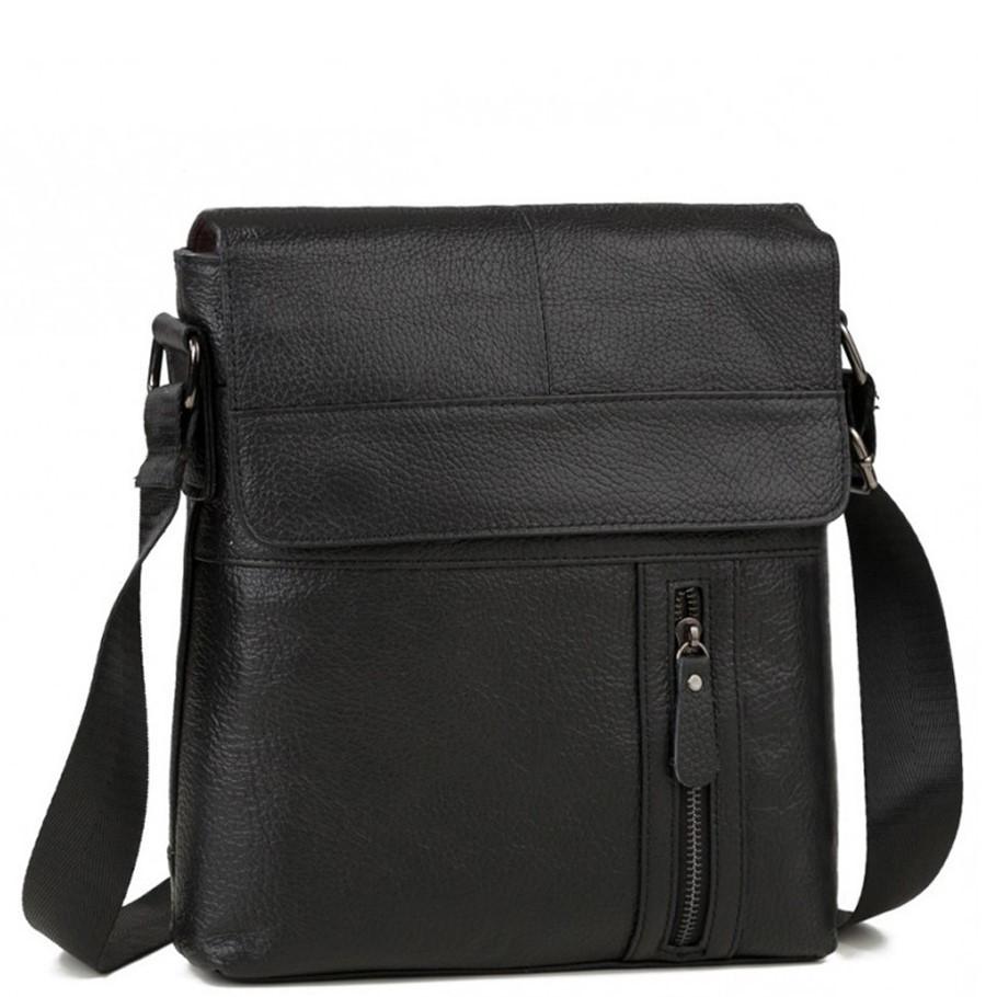 Мужская кожаная сумка через плечо Tiding Bag M38-1713A