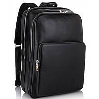 Мужской кожаный рюкзак для ноутбука на два отдела Tiding Bag NM11-184A, фото 1
