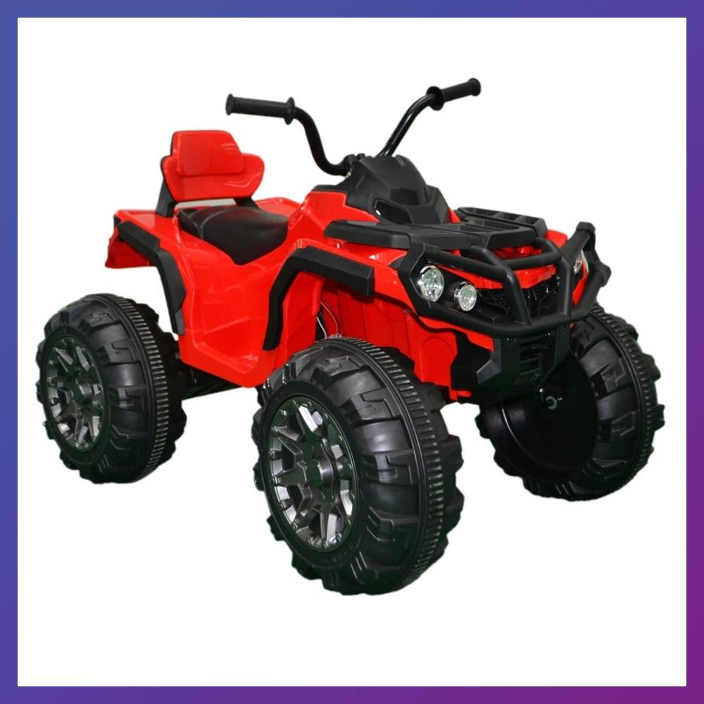 Детский электро квадроцикл на аккумуляторе Tilly T-733 для детей 3-8 лет красный