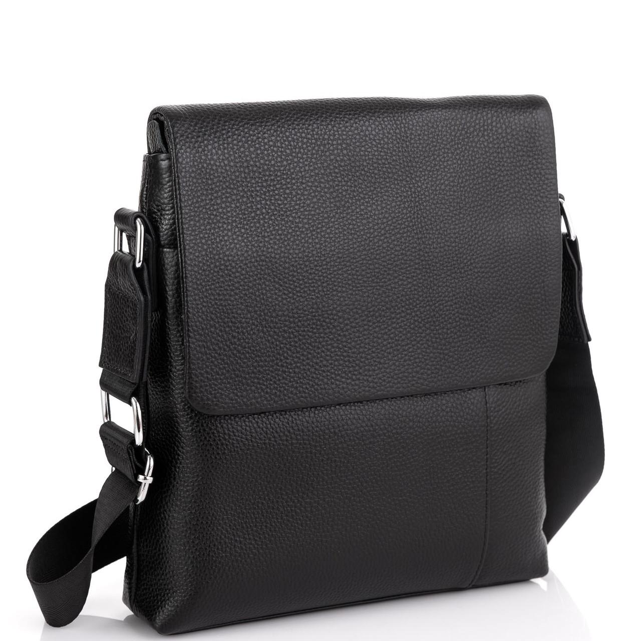 Кожаная сумка через плечо с клапаном Tiding Bag A25F-8878A