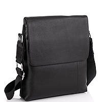 Кожаная сумка через плечо с клапаном Tiding Bag A25F-8878A, фото 1